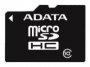 Карта памяти A-Data microSDHC Class 10 8GB + SD adapter