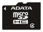 Карта памяти A-Data microSDHC Class 4 4GB