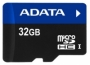 Карта памяти A-Data microSDHC UHS-I 32GB + SD adapter