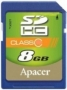 Apacer SDHC 8Gb Class 10
