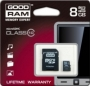 Карта памяти GOODRAM 8 GB microSDHC class 10 + SD adapter