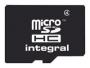 Карта памяти Integral microSDHC 4GB Class 4 + SD adapter