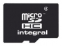 Карта памяти Integral microSDHC 4GB Class 4 + SD adapter