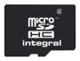 Карта памяти Integral microSDHC 4GB Class 4