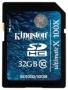 Карта памяти Kingston 32 GB SDHC Class 10 Gen.2