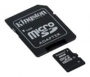 Карта памяти Kingston 32 GB microSDHC class 4 + SD Adapter