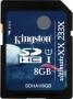 Карта памяти Kingston 8Gb SDHC UltimateXX UHS-I