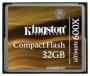 Карта памяти Kingston CF 32GB (600x)