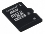 Flash-карта KINGSTON microSDHC 8GB