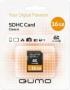 Карта памяти Qumo 16 GB SDHC Class 6