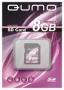 Карта памяти Qumo 8 GB SDHC Class 6