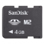SANDISK Memory Stick Micro (M2) 4Gb