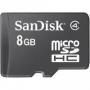 Карта памяти Sandisk microSDHC 8GB Class 4