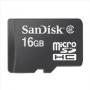 Карта памяти Sandisk microSDHC Card 16GB Class 2