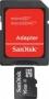 Карта памяти Sandisk microSDHC Class 4 16GB + SD adapter