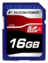 Карта памяти Silicon Power 16 GB SDHC Class 4