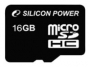 Карта памяти Silicon Power 16 GB microSDHC Class 4