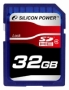 Карта памяти Silicon Power 32 GB SDHC Class 4