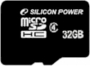 Карта памяти Silicon Power 32 GB microSDHC Class 4