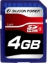 Карта памяти Silicon Power 4 GB SDHC Class 4