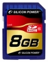 Карта памяти Silicon Power 8 GB SDHC Class 10