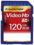 Карта памяти Silicon Power 8 GB SDHC Class 6 Full HD
