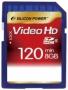 Карта памяти Silicon Power 8 GB SDHC Class 6 Full HD