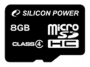 Карта памяти Silicon Power 8 GB microSDHC Class 4