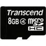 Карта памяти Transcend 8 GB microSDHC class 4