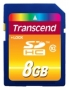 Карта памяти Transcend 8Gb SDHC Class 10