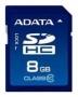 Карта памяти A-Data SDHC Class 10 8GB
