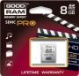 Карта памяти GOODRAM 8 GB SDHC Class 10