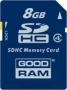 Карта памяти GOODRAM 8 GB SDHC Class 4