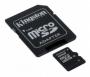Карта памяти Kingston 16Gb microSDHC Class 10 SD adapter