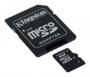 Карта памяти Kingston 32 GB microSDHC class 4 + SD Adapter