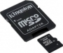 Карта памяти Kingston 4Gb microSDHC Class 10 (adapter SD)