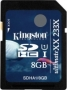 Карта памяти Kingston 8Gb SDHC UltimateXX UHS-I