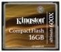 Карта памяти Kingston CF 16GB (600x)