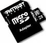 Карта памяти PATRIOT 8 GB microSDHC class 4 + SD Adapter