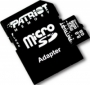 Карта памяти PATRIOT 8 GB microSDHC class 4 + SD Adapter