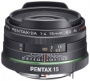 Объектив Pentax SMC DA 15mm f/4 AL Limited