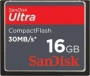 Карта памяти Sandisk Compact Flash Ultra 16GB