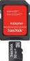 Карта памяти SanDisk MicroSDHC 32Gb Class 4 + SD adapter