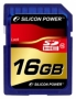Карта памяти Silicon Power 16 GB SDHC Class 10