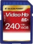 Карта памяти Silicon Power 16 GB SDHC Class 6 Full HD