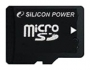 Карта памяти Silicon Power 2 GB microSD + SD Adapter