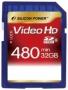 Карта памяти Silicon Power 32 GB SDHC Class 6 Full HD