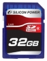Карта памяти Silicon Power 32 GB SDHC Class 6