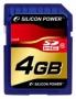 Карта памяти Silicon Power 4 GB SDHC Class 10