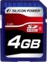Карта памяти Silicon Power 4 GB SDHC Class 4